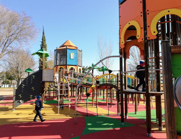 parco giochi per bambini a Cordoba in Andalusia