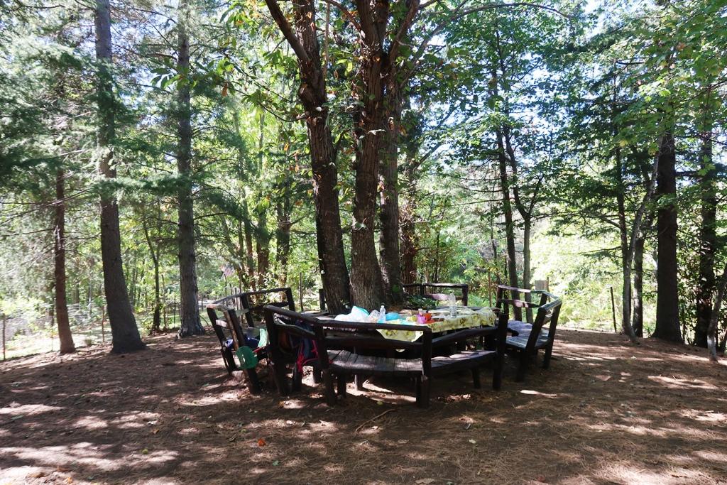 area picnic rifugio monte concilio