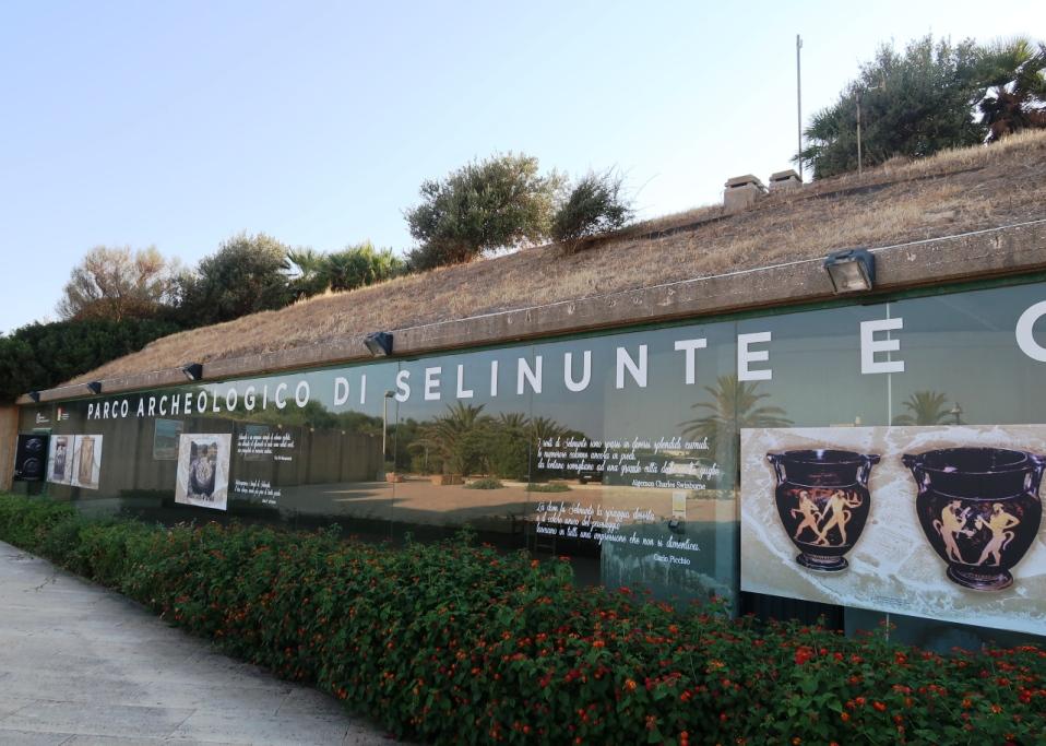 ingresso sito archeologico di Selinunte