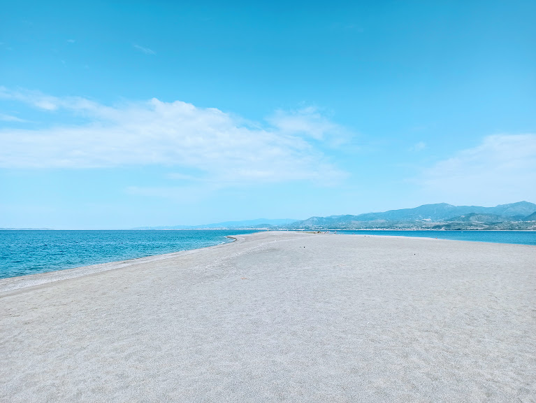 La Punta della lingua di sabbia di Marinello