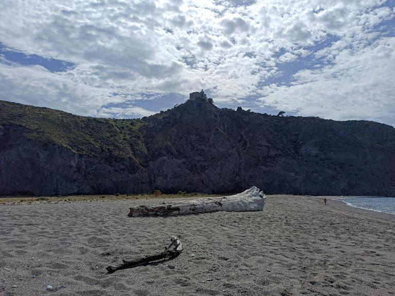 santuario di tindari visto dal mare