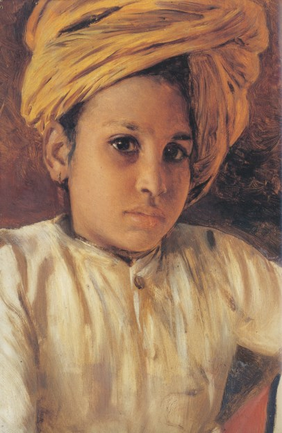 Fig. 9: Swoboda, Sunder Singh, 1886-88, oil on panel, 29.8 x 19.1 cm, Royal collection, © Her Majesty Queen Elizabeth II.