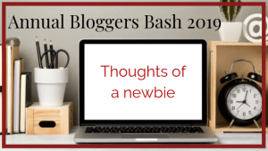 Annual bloggers bash 2019: thoughts of a newbie by Claire Ladds author