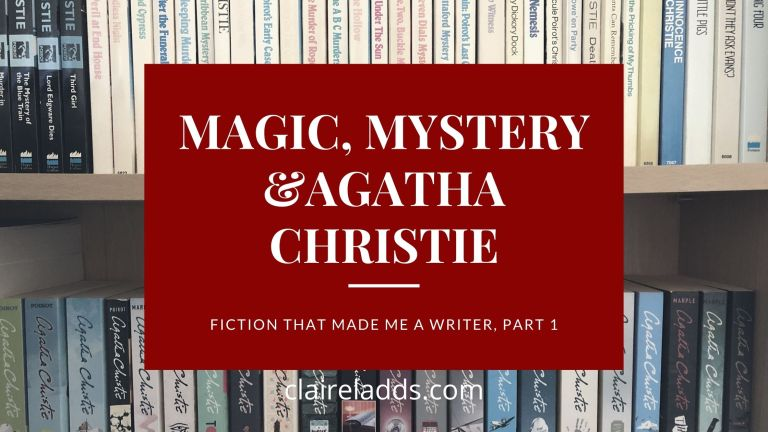 fiction that made me a writer by Claire Ladds