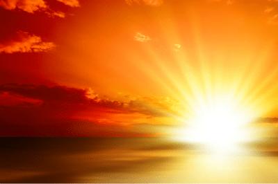 lumiere coucher de soleil