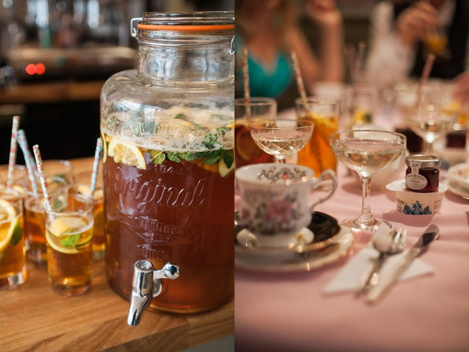 Vintage Beach Tea Party Wedding