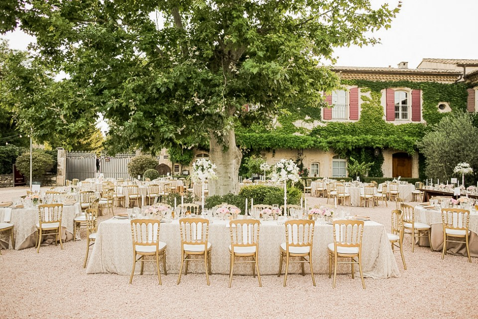 Domaine d'Estoublon Wedding Venue in Provence