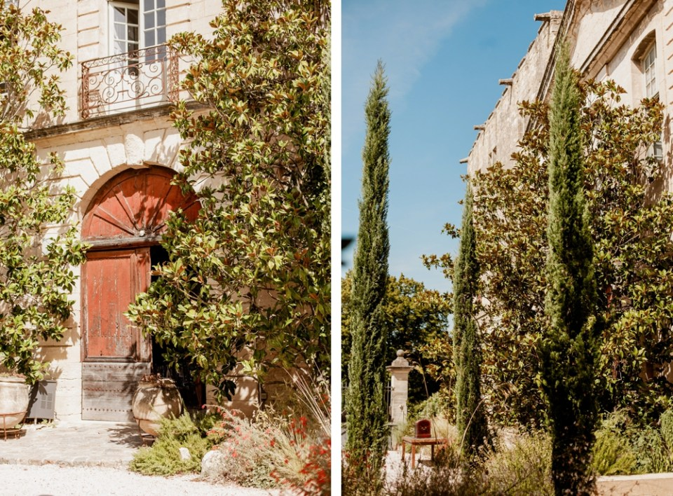 Wedding at the Chateau Provence Saint Maximin near Uzes