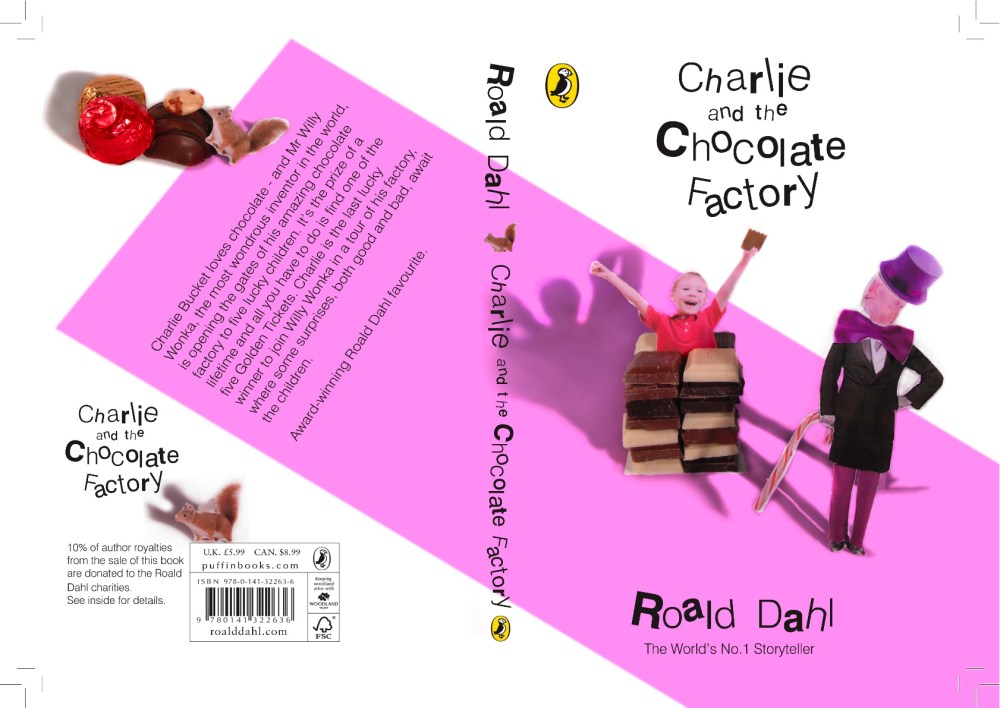 Roald Dahl Book Covers (2/4)
