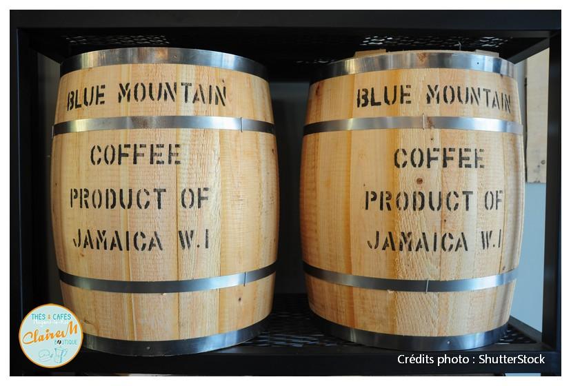 2 tonneaux de café Blue mountain