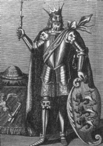 Représentation du XVIIème siècle de Brian Boru