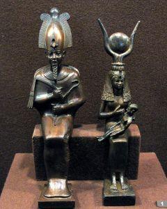 Isis, Osiris et Horus