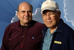 Le Docteur Len et l'auteur Joe Vitale