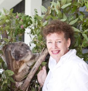 Deborah Tabart OAM, défenderesse des koalas en Australie.