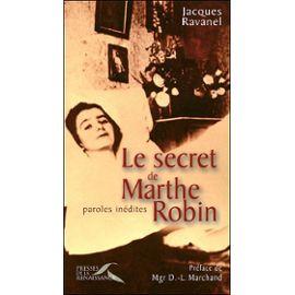 Ravanel-Jacques-Le-Secret-De-Marthe-Robin---Paroles-Inedites-Livre-847546454_ML