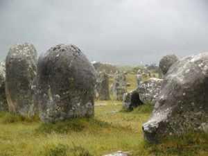 Les pierres de Plouhinec, en Bretagne