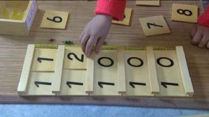 La table de Seguin pour apprendre à compter.