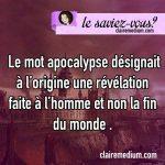 Le saviez-vous ? Apocalypse