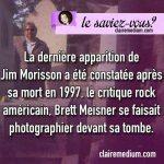 Le saviez-vous ? la dernière apparition de Jim Morisson