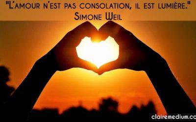 La citation du jour par Simone Weil