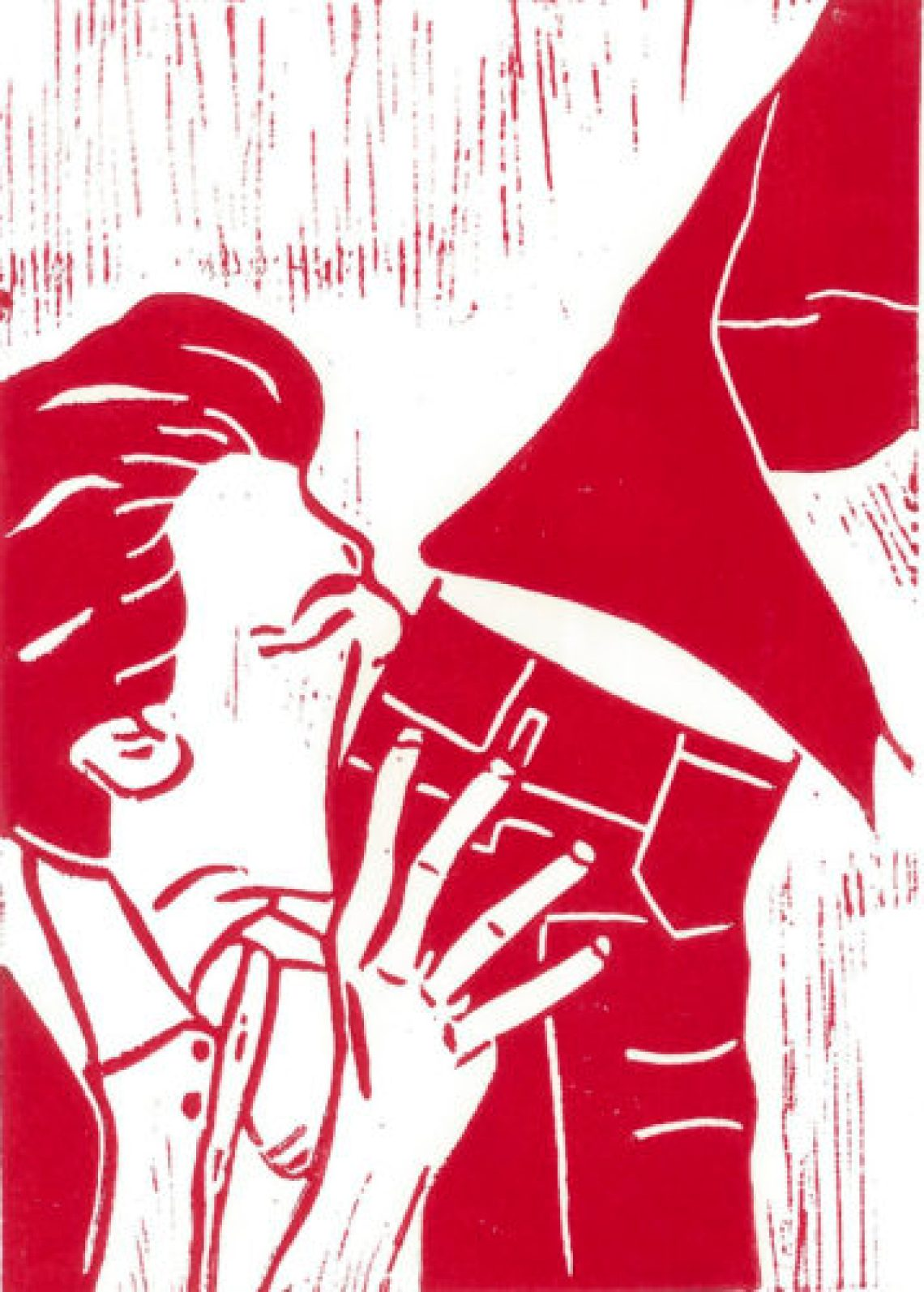 Rosebutt Kiss # red