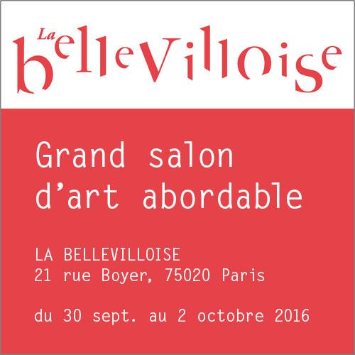 BELLEVILLOISE • GRAND SALON D'ART ABORDABLE 2016