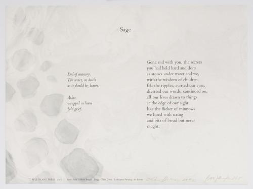 Broadsides: Sage