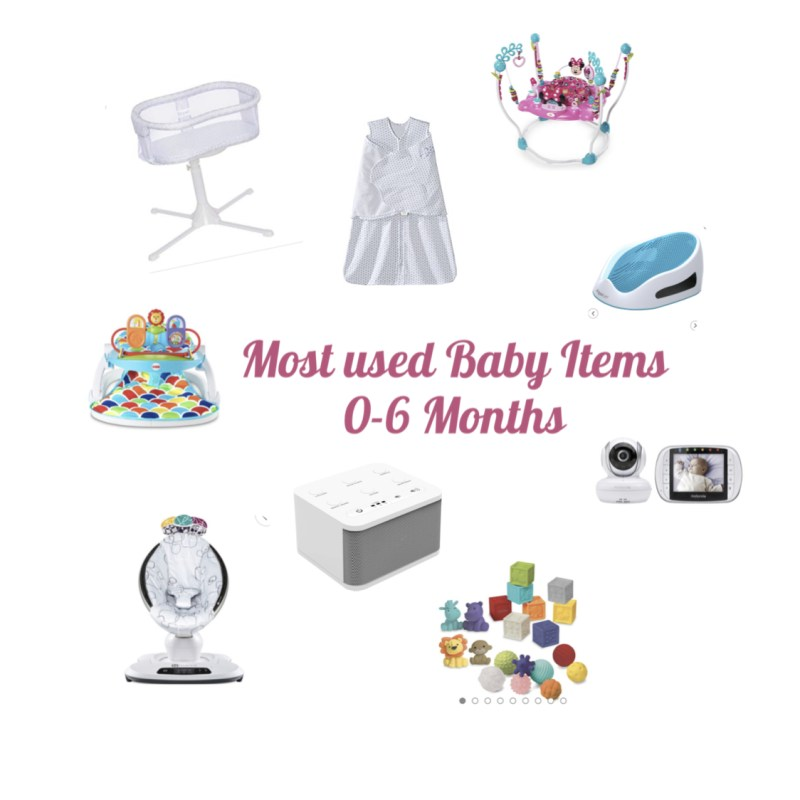 Our Favorite Baby Products for the first 6 months