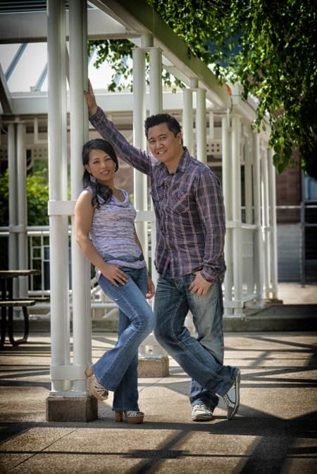 Tina and Chris at Gage Park Brampton 14