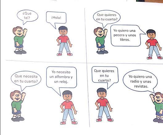 How Say Pretend Spanish