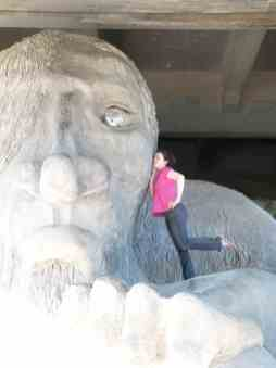 Fremont troll seattle etats unis