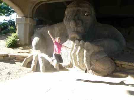 Fremont troll seattle etats unis