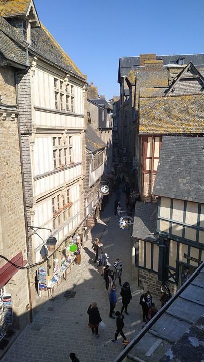 le Mont Saint Michel en Normandie
