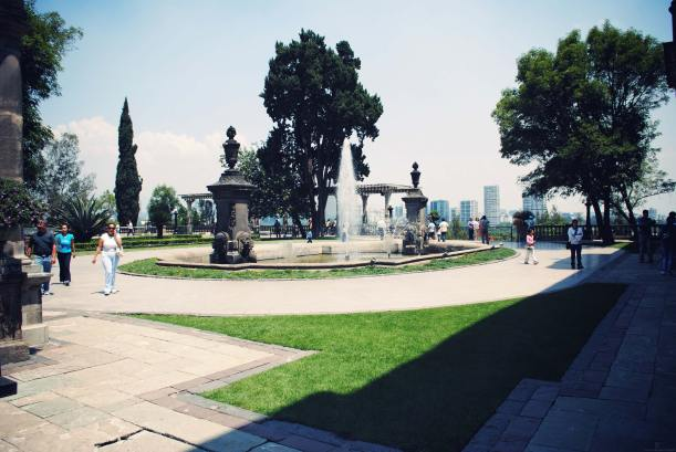 chapultepec mexique mexico parc