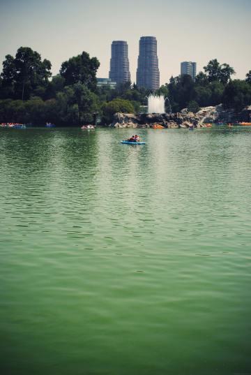 chapultepec mexique mexico parc
