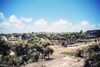 temples maya tulum mexique