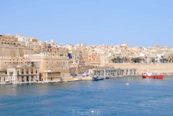 La Valette et les 3 cités - Malte