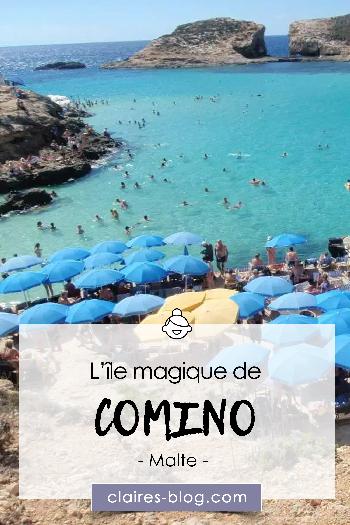 l'île magique et paradisiaque de Comino - Malte