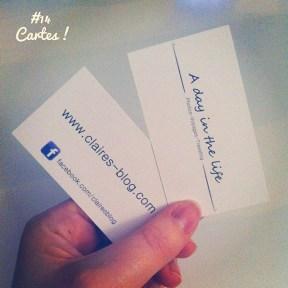 Visit cards