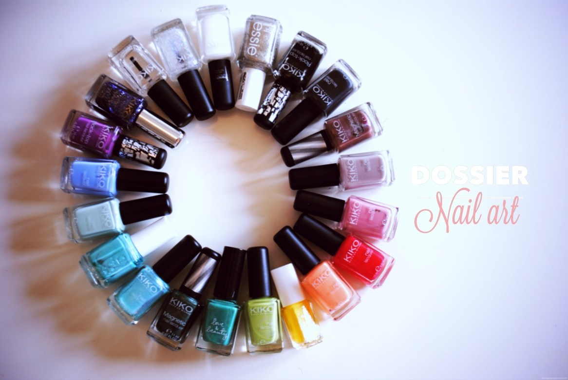 Collection vernis à ongles nail art