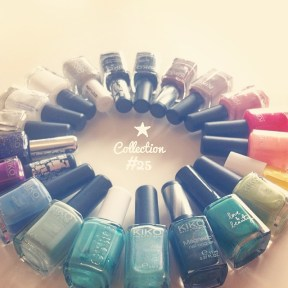Nail polish collection
