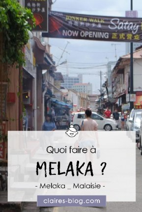 Quoi faire à Melaka - Malaisie #voyage #melaka #melacca #asie #malaisie