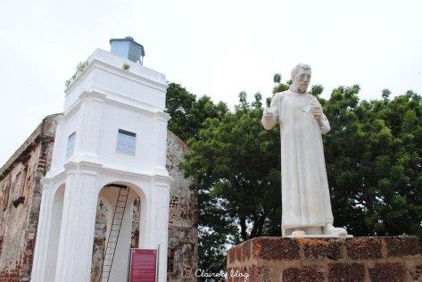 Melaka Malaisie Eglise Saint Paul