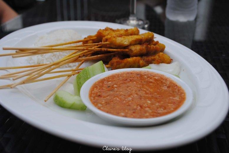 Brochettes de poulet Melaka Malaisie