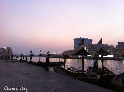 Vieux quartier de Dubaï Emirats Arabes