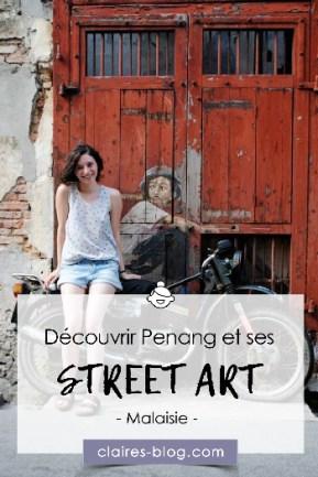 Découvrir Penang et ses street Art Malaisie #penang #malaisie #voyage #asie #streetart
