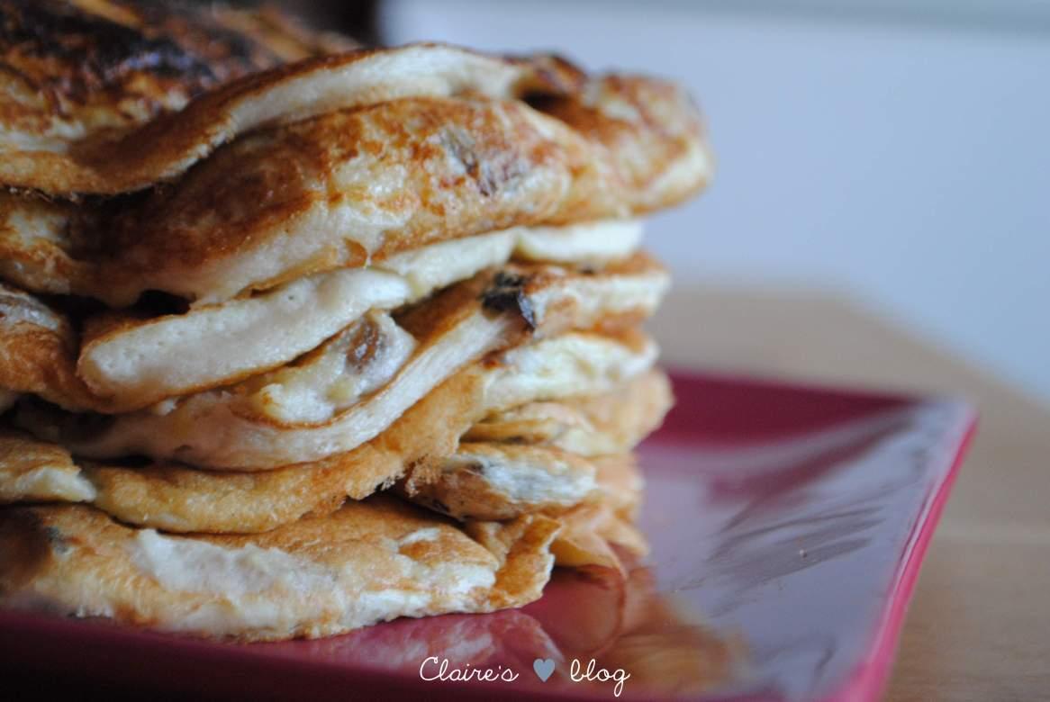 recette de pancakes gourmands sans gluten petit déjeuner
