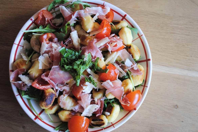 recette salade légère italie gnocchi 2