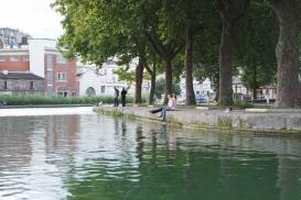 marin d'eau douce canal saint martin bateau sans permis paris
