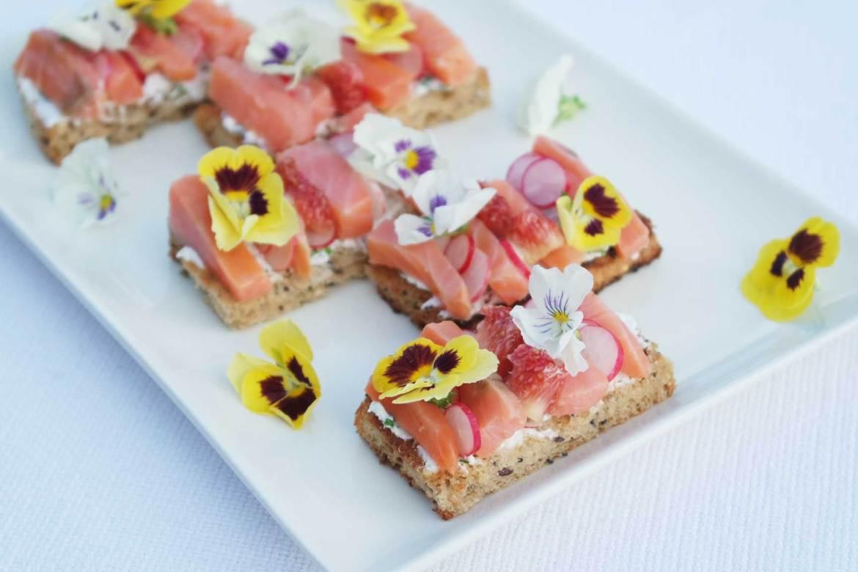 recette apéro dinatoire facile healthy joli fleurs comestibles (4)